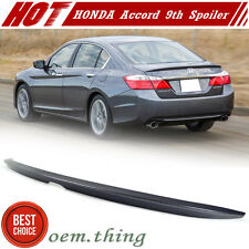 Painted #NH797M For Honda Accord 9th 4D OE Type Trunk Boot Spoiler LX Sport 16+