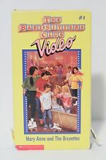 The Baby-Sitters Club - Mary Anne and the Brunettes (VHS Video, 1994) Vintage