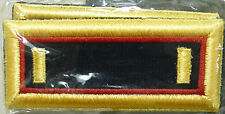 US ARMY MEN'S SHOULDER STRAPS DRESS UNFRM SECOND LIEUTENANT ADJUTANT GENERAL NEW