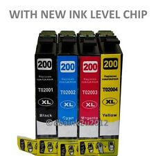 4 Pack NON OEM T200XL Ink CARTRIDGE FOR Epson Expression XP 210 310 410
