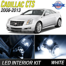 2008-2013 Cadillac CTS / CTS-V White LED Lights Interior Package Kit