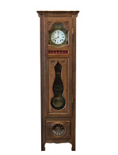 French Antique Grandfather Clock Antique Furniture