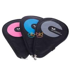 Waterproof Table Tennis Racket Case Bag For 2 Ping Pong Paddle Bat #02 Durable