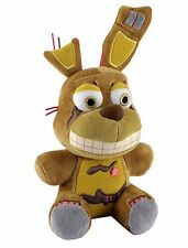 "New Fall 2016 Authentic Five Nights At Freddy's SPRINGTRAP 8"" Plush Stuffed FNAF"