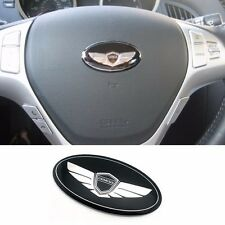Steering Wheel Horn Emblem Made in Korea (Fits: Hyundai 2010-2015 Genesis Coupe)