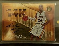 2015-16 GOLD STANDARD 14K KOBE BRYANT /40 AUTO RC AUTOGRAPH ON CARD