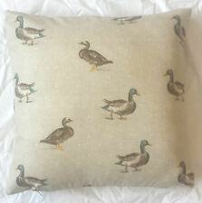 Duck Picture 100% Cotton Cushion Cover Pillow Case 43cm Ideal Gift UK MADE