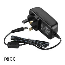 UK 12V 2A AC-DC Adaptor Charger Power Supply for MUSTEK DP77A DVD Player