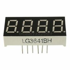 0.36'' 7 Segment 4 Digit Display RED LED Common Anode Time 12 Pins for Arduino B