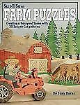 Scroll Saw Farm Puzzles: Creating a Barnyard Scene with 20 Easy-To-Cut-ExLibrary