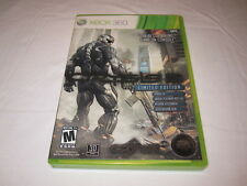 Crysis 2: Limited Edition (Microsoft Xbox 360) Original Release Complete Nr Mint