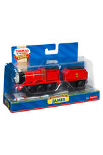 NEW Thomas The Tank Wooden Railway Battery Operated Large - James Vehicle/Engine
