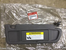 Genuine OEM Honda Civic Passenger Side Dark Atlas Gray NH598L Sunvisor 2006-2008