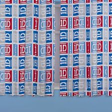 "ONE DIRECTION 'CRAZE' 66"" x 54"" CURTAINS NEW matches duvet 1D 100% OFFICIAL"