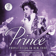 PRINCE New 2016 UNRELEASED 1985 PURPLE RAIN TOUR NEW YORK LIVE CONCERT 2 CD SET