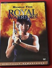 Royal Warriors DVD Michelle Yeoh Action Martial Arts Movie Film Girl Fighting