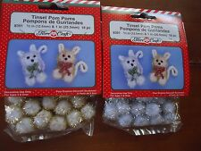 Tinsel Pom Pom Kit to make Tiny Animals Agd 3+