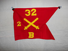 flag291 1960's US Army Guide On Artillery 32 Regiment 2nd group B Battery