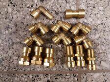 Steckfitting Set 12mm für Kupferrohr, Edelstahlrohr, C-Stahlrohr 18 Teile DVGW