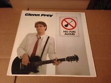 GLENN FREY NO FUN ALOUD WITH INNER SLEEVE VINYL LP