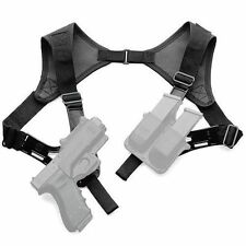 Fobus KTF SR Holster Shoulder Harness Rig With Rotating Adaptors 4 Roto Holsters