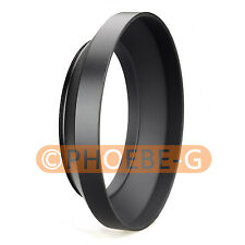 77mm metal wide angle screw in mount lens hood for Canon Nikon Pentax Sony