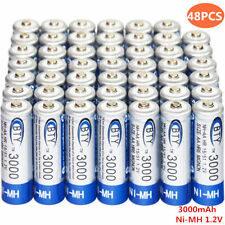 48x Ni-MH AA 3000mAh 1.2V rechargeable battery BTY Cell for MP3 RC Toys Camera T