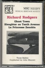 Richard Rodgers - Three Ballets: Ghost Town+  (Cassette, Musical Heritage) NEW!