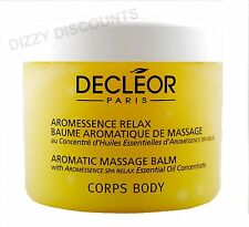 DECLEOR 500ml AROMATIC MASSAGE BALM Body Aromessence SPA RELAX Essential Oils