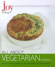 Joy of Cooking: All About Vegetarian Cooking-ExLibrary