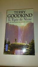 Terry Goodkind - L'épée de vérité : La première leçon du sorcier - Pocket