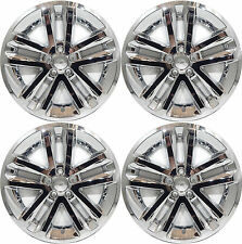 "(4) 2012 FORD EXPLORER 18"" CHROME WHEEL LINERS SKINS HUBCAPS 8385P-18"""