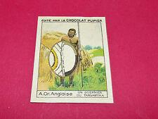 RARE CHROMO CHOCOLAT PUPIER ALBUM AFRIQUE 1938 ORIENTALE ANGLAISE GUERRIER