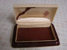 Vintage GRUEN Precision Watch Case Plastic Empty Box Only - Cincinnati USA