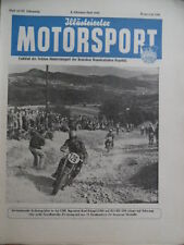 ILLUSTRIERTER MOTORSPORT 19 - 1953 Oktober-2 28.Six-Days Cisitalia-F1 Grunewald