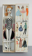Vintage #2 Barbie Blonde Ponytail Box Stand 1959