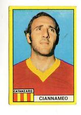 CALCIO FIGURINA CALCIATORI  EDIS  1971-72  CIANNAMEO CATANZARO  NUOVA CON VELINA