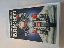 HARLEY DAVIDSON CHRISTMAS CARDS #X476 HARLEY SANTA MAKING YULE RIDES BRIGHT(10)