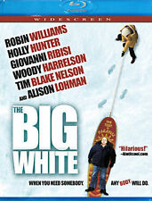 THE BIG WHITE/Robin Williams, Holly Hunter/BLU-RAY/BUY ANY 4 ITEMS GET FREE SHIP