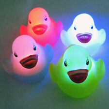 Waterproof Swiming Pool Light Spa Bath Change LED Duck Lamp Kids Toy