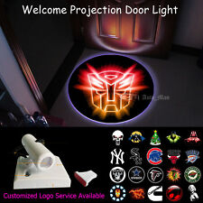 Wireless Home Door Shining Transformers Autobot Logo Projector CREE LED Light