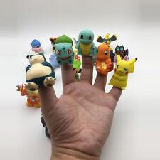 3 Pcs Lot Pokemon Go Action Figures Toys Dolls Pikachu Charmander Squirtle