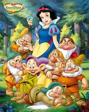 Snow White & the Seven Dwarfs - Mini Poster 40cm x 50cm (new & sealed)