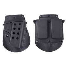 CQB Airsoft Tactical Right Hand holster Paddle with Belt for M1911 Hunting Sport