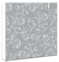 "Silver Wedding Photo Album 200 4""x6"" 80 4""x6"" Photos or 10 Sheets Self Adhesive"