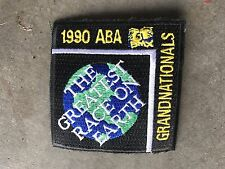ABA Grands 1990 Vintage BMX Jersey Patch Old Mid School MINT NBL NOS