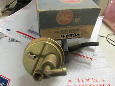 1972 1973 1974 PONTIAC FIREBIRD NEW AC DELCO USA FUEL PUMP V8 350 400 455 3 LINE