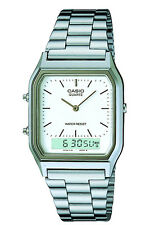 Casio AQ-230A-7DMQYES Casio Collection Herrenuhr silberfarben NEU & OVP