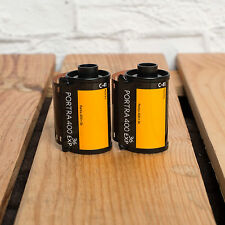 2 x KODAK PORTRA 36 EXPOSURE 35MM FILMS ISO 400 - FRESH UK STOCK - TRACKED POST