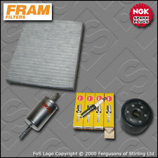 SERVICE KIT for VOLVO S40 II 1.6 16V FRAM OIL FUEL CABIN FILTERS PLUGS 2004-2012